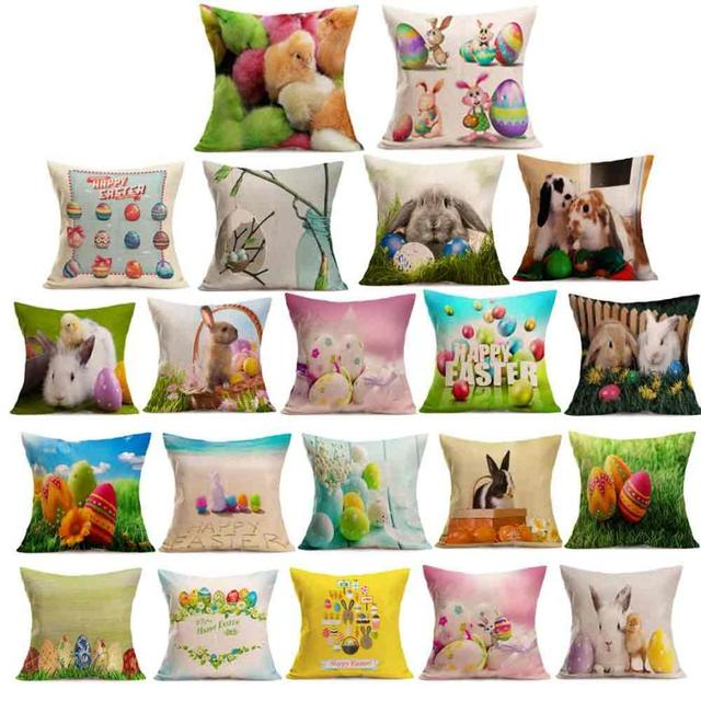 Pillow Cases For Decorative Pillows Easter Sofa Bed Home Decoration Delectable Decorating Pillow Cases