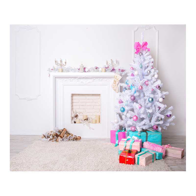 Indoor Fireplace Christmas Decor 7X5ft Vinyl Photography Backdrop Computer Printed Photographic Background For Photo Studio bosch 250х30мм 80зубьев expert for laminated panel 2 608 642 516