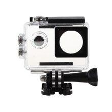 Goldfox Водонепроницаемый Дайвинг Корпус коробка Защитный чехол для активных видов спорта Камера для SJ4000/SJ7000/SJ9000/W8 + 4 К H9 видеокамера