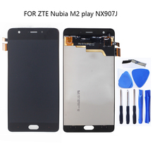 ZTE nubia M2 PLAY NX907J LCD 디스플레이 터치 스크린 디지타이저 대체품 nubia M2 Play 터치 패널 수리 키트