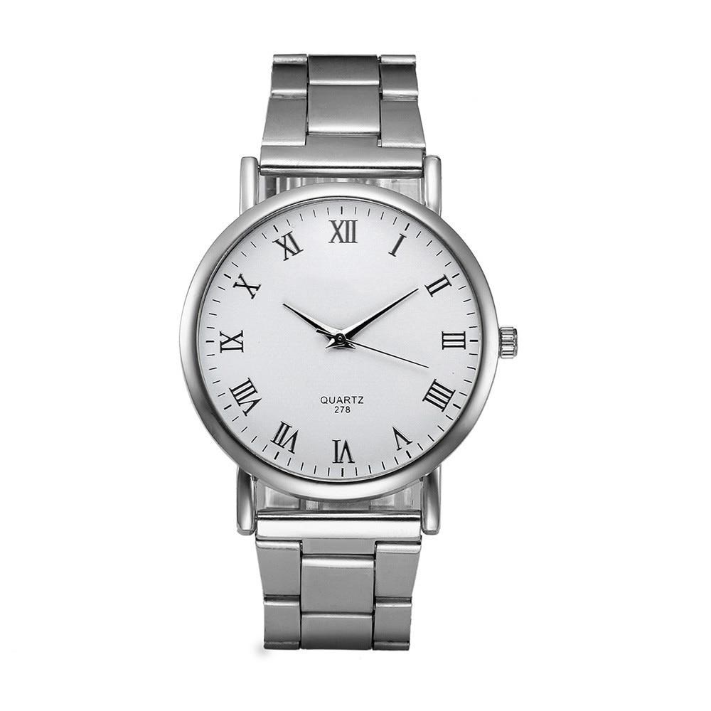 Splendid Luxury Men's  Fashion Women Crystal Stainless Steel Analog Quartz Wrist Watch Bracelet Masculino Reloje smart baby watch q60s детские часы с gps голубые