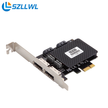PCI-E to ESATA3.0 expansion card adapter activated SSD solid-state hard drive Multi I/O Controller Card
