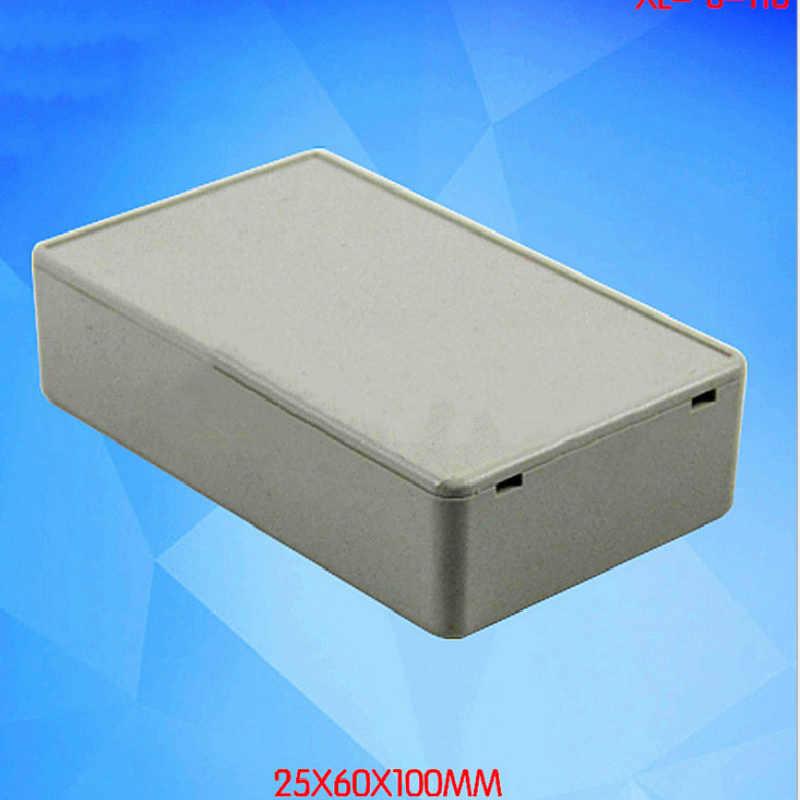 1 piezas 100X60X25 MM caja de conexiones electrónicas caja de plástico caja de instrumentos de proyecto funda impermeable proyecto eléctrico caja