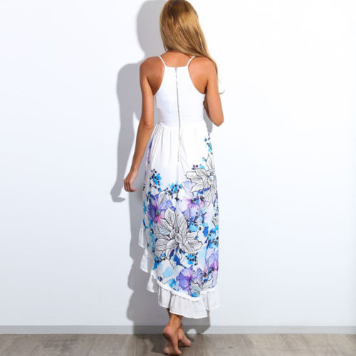 02e4f5ac9a New Hot Summer Women Boho Bandeau Cocktail Party Long Maxi Beach Dress  Sundress Size S XL-in Dresses from Women's Clothing on Aliexpress.com |  Alibaba Group