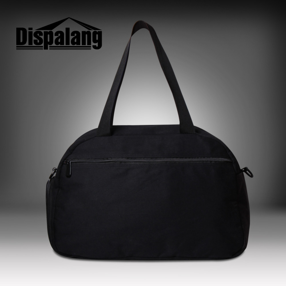 f0e98d6a4c21 Dispalang Cool Denim Print Canvas Mens Travel Luggage Bag Large Capacity  Long Strap Travel Bag Tote Bullet Weekend Overnight Bag-in Travel Bags from  Luggage ...