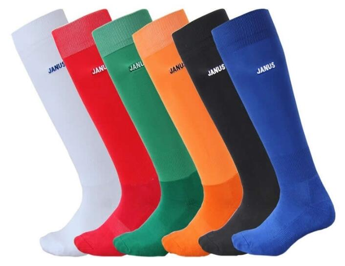 1pair Top Quality Football Socks Polyester Soccer Sock for Mens Sports Durable Long Cycling Sock Thickening Sox,Free shipping!