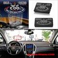 Автомобиль HUD Head Up Display Для Cadillac SRX 2012 ~ 2015 Refkecting Лобовое Стекло Экрана Безопасного Вождения Проекционный Экран
