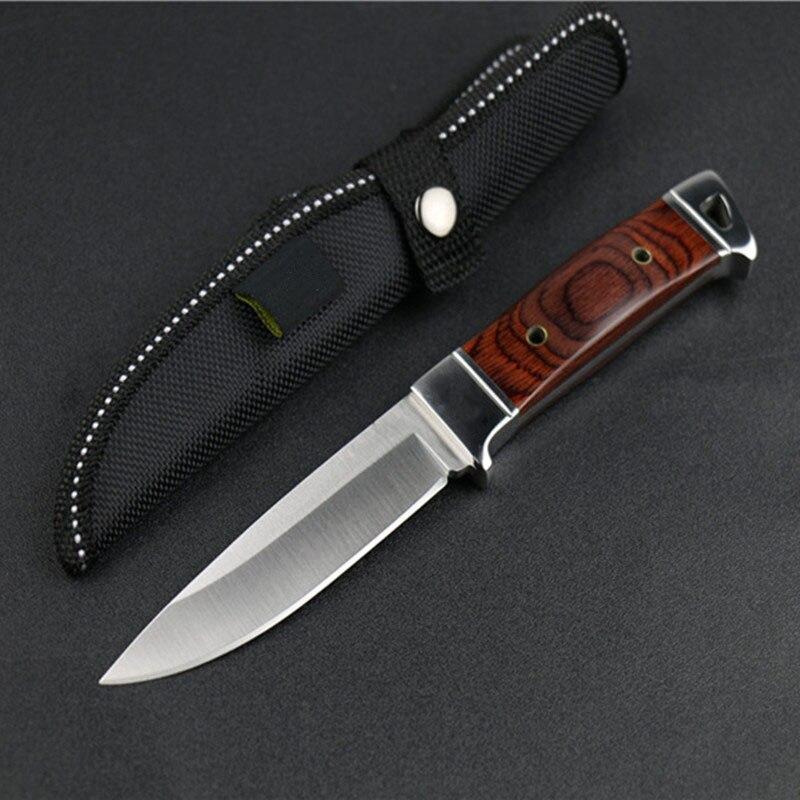 Cuchillo fijo Caza un Cuchillos camping Survie couteau CS cuchillos zakmes Browning cuchillo facas taticas militar bolsillo