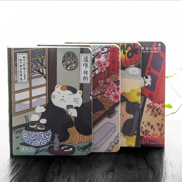 Japanese Cat Ver.3 Cute Planner Agenda Study Diary Notebook Monthly Planning Papers Pocket Journal
