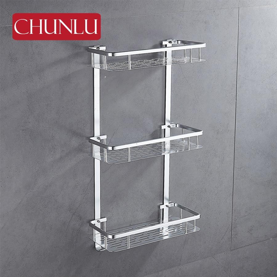 Aliexpress Com Buy Chunlu 3 Layers Bathroom Shelf