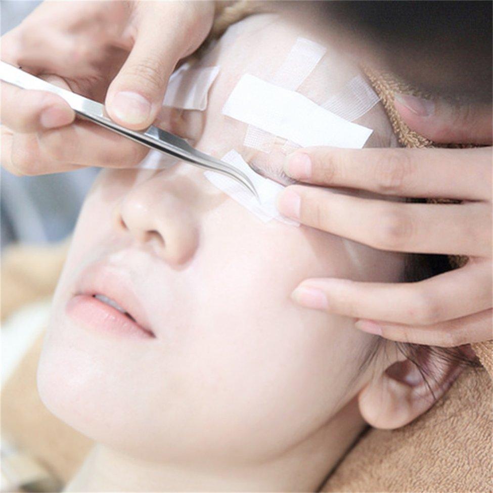10Pcs Eye Pad Eyelash Extension under Patch Makeup Tool Individual False Eyelash Non woven wrap tape Tool
