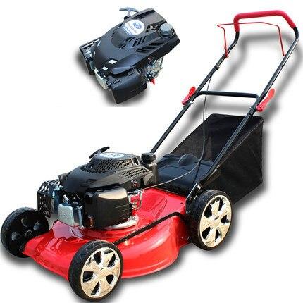 20 6/6.5HP Subaru Gasoline powered four-stroke petrol mower, lawn trim, portable folding / for large villas, soccer field