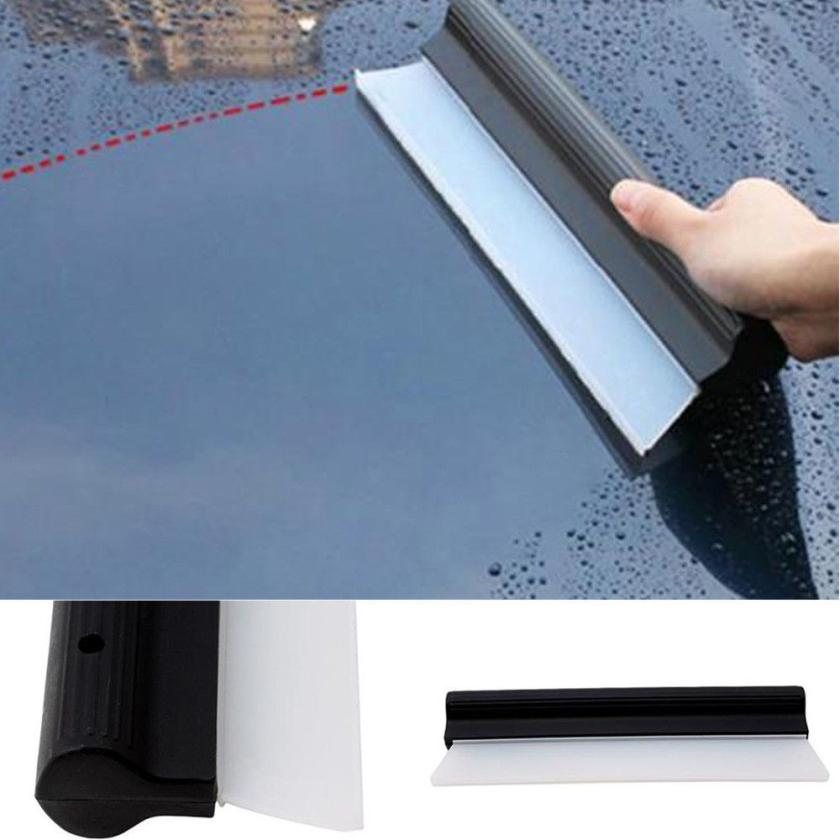 Silicone Squeegee Drying Blade for Car Windows Wash Cleaning Brush Wiper