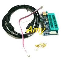 Free Shipping PIC Programmer PIC K150 USB Programmer Downloader Blue H5B2