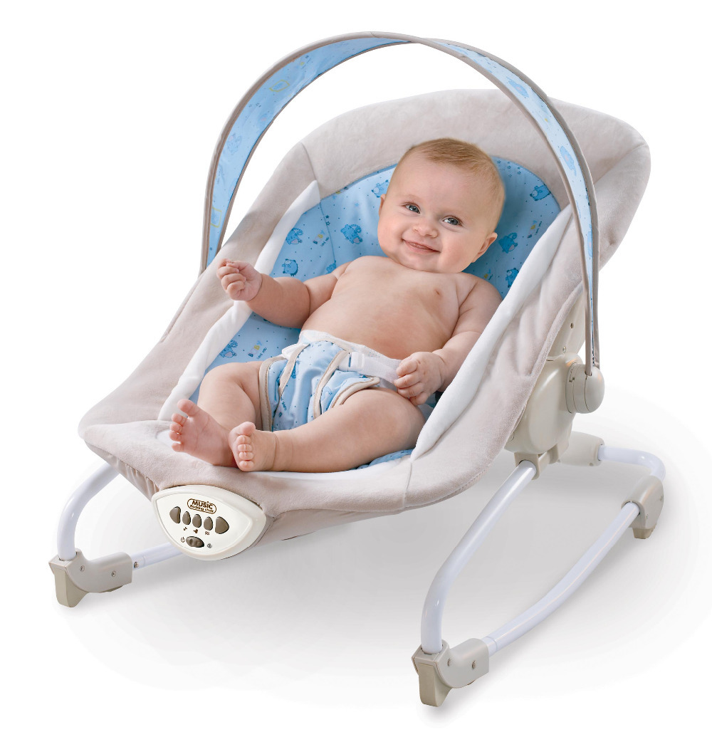Baby girl vibrating chair - Free Shipping Multifunctional Baby Musical Rocking Chair Baby Bouncer Swing Chair Baby Rocker Electronic Baby Vibration