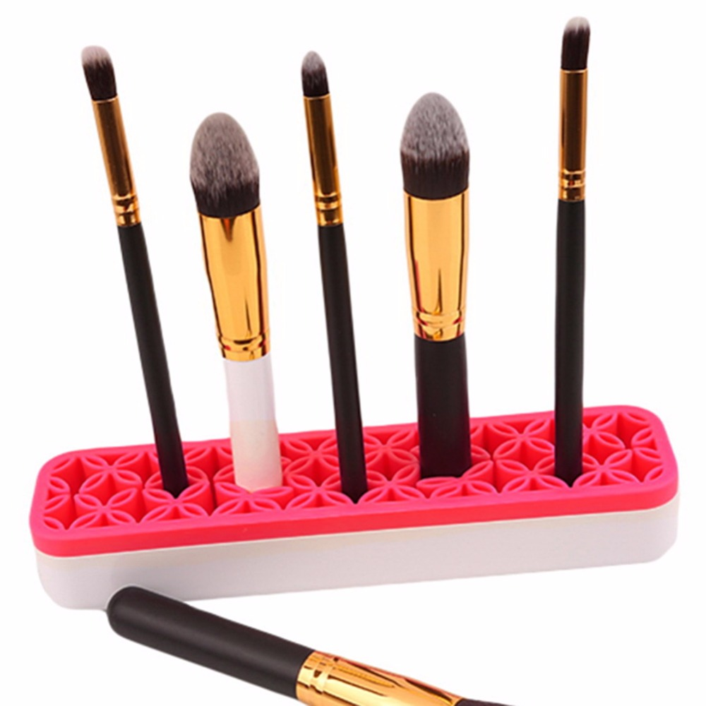 1 PC Makeup Cosmetic Storage Box Jewelry Lipstick European Style Dresser Small Lipstick Make up Brushes Holder Display Stand каталог pink lipstick