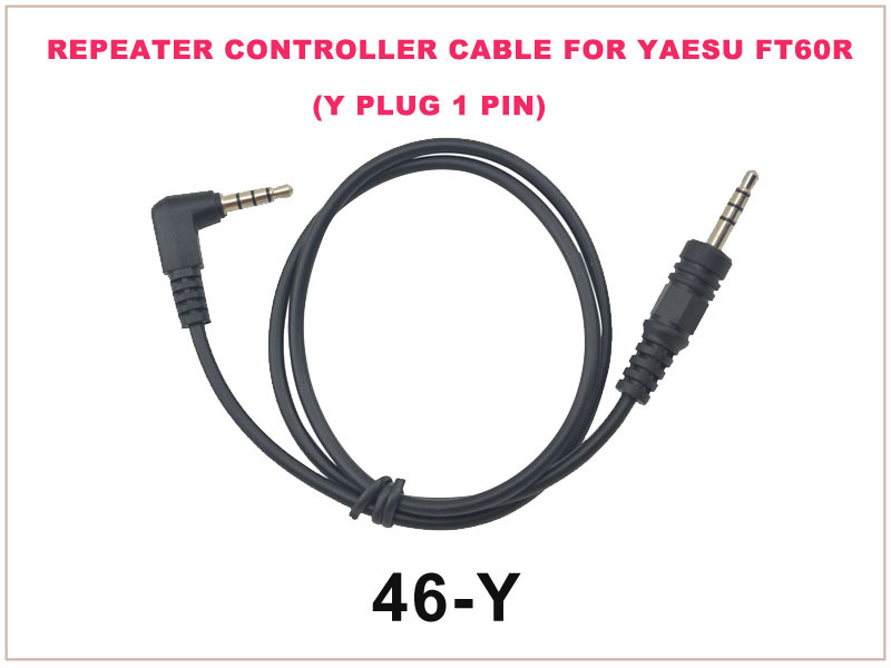 46-Y Repeater Controller Cable FOR YAESU FT-60R (Y Plug 1 Pin)