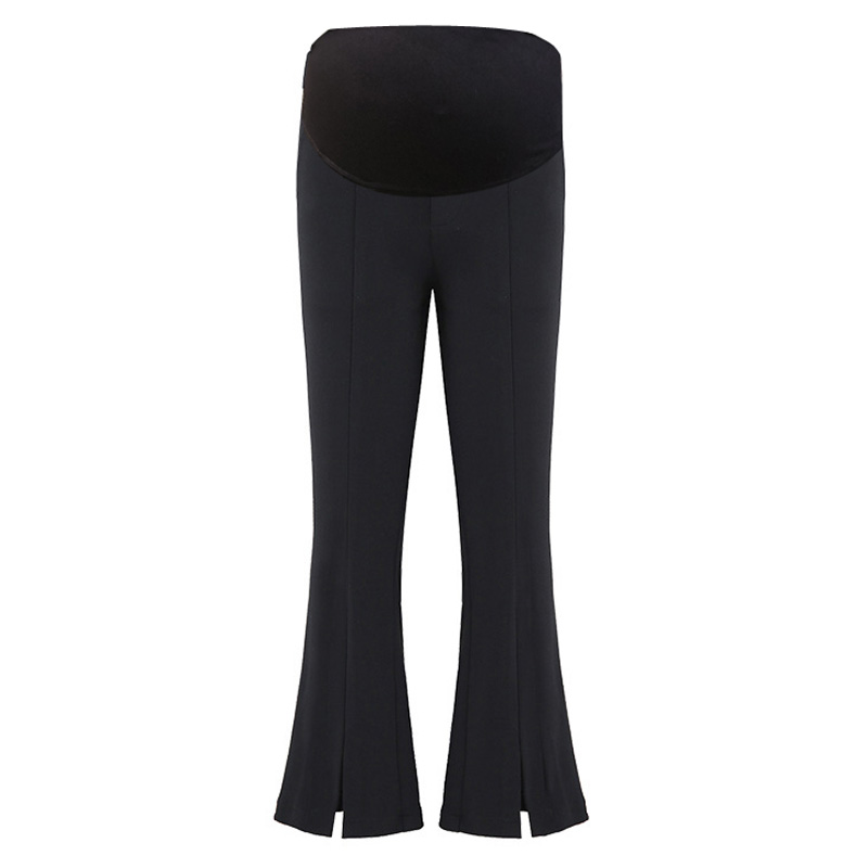 2018 winter maternity clothing pregnancy stretchy waist abdominal leggings pregnant women pants maternity cotton clothes