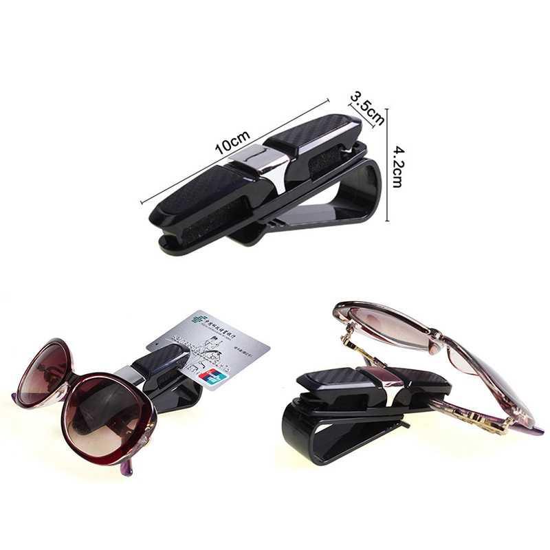 ABS Carro Viseira Óculos Sunglasses Ticket Cartão Titular de Montagem PARA Ford Transit Ka Focus Fusion Mustang Ranger F-150