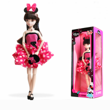 D0719 In box Best children girl gift 30cm Kurhn Chinese Doll Chinese myth Gift Traditional toy rose red 6087-1 1pcs