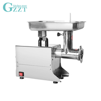 GZZT Commercial Meat Grinder Multifunctional Stainless Steel Electric Meat Mincer Food Chopper Sausage Filling Machine 80kgs/h|Manual Meat Grinders| |  -