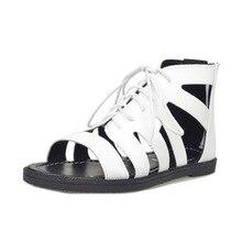 2016 sommer neue sandalen frauen cross strap sandalen Rom flache offene spitze strandschuhe Mode büro partei und casual frauen schuhe
