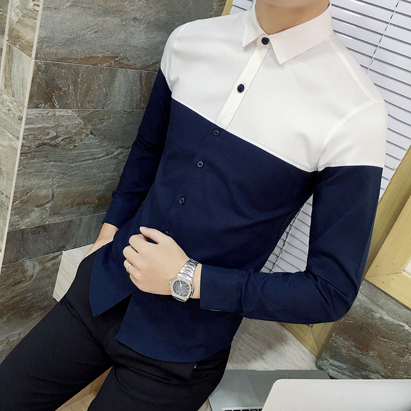 Spring Autumn Males's Shirt long-sleeve Male Clothes Excessive High quality Informal Slim Oxford Camisas Non-iron Youth Overhemden Heren 4XL Informal Shirts, Low-cost Informal Shirts, Spring Autumn Males's Shirt lengthy...
