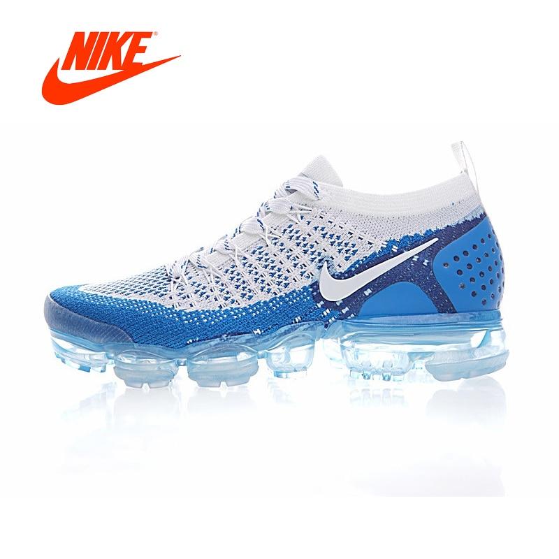 Original Authentic NIKE AIR VAPORMAX FLYKNIT 2 Mens Running Shoes Sneakers Air Cushion Outdoor Sneakers Men 942842