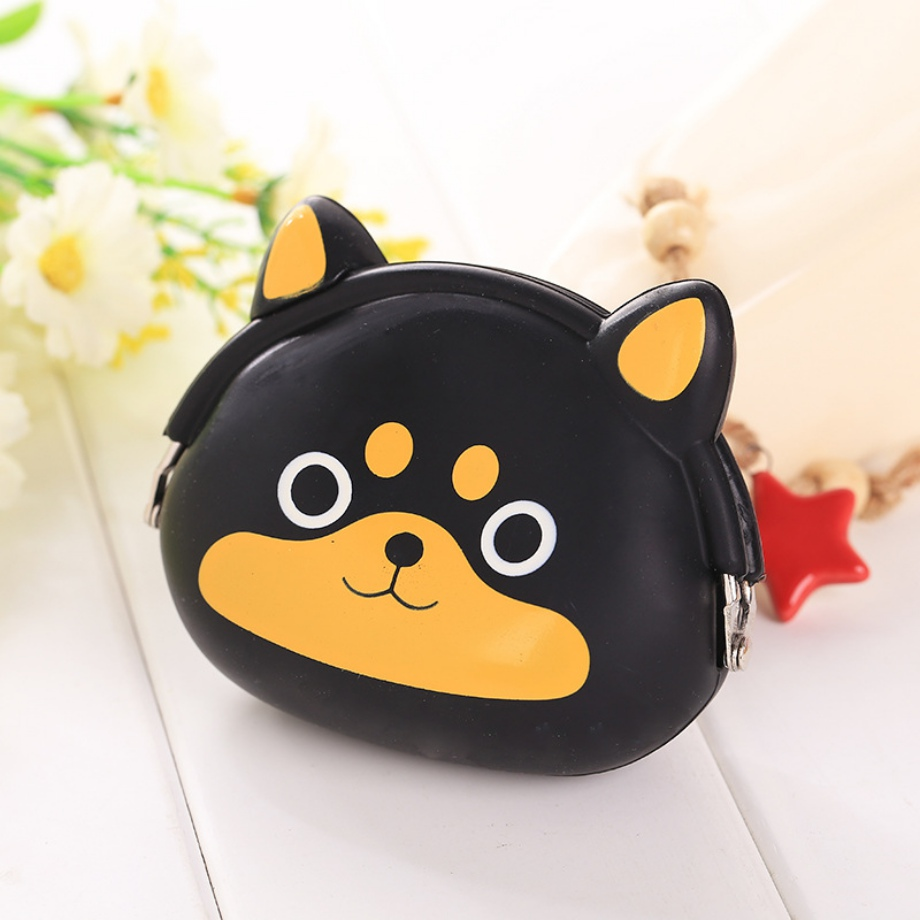 2018 New Girls Mini Silicone Coin Purse Animals Small Change Wallet Purse Women Key Wallet Coin Bag For Children Kids Gifts # H