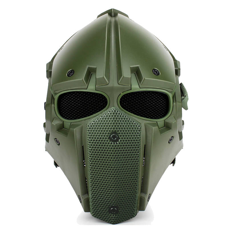 WoSporT Full Face Motorcycle Tactical Airsoft Paintball Military Breathable Adjustable Tactical Helmet with Fan to Clear Mist brand new skull skeleton army airsoft tactical paintball full face protection mask
