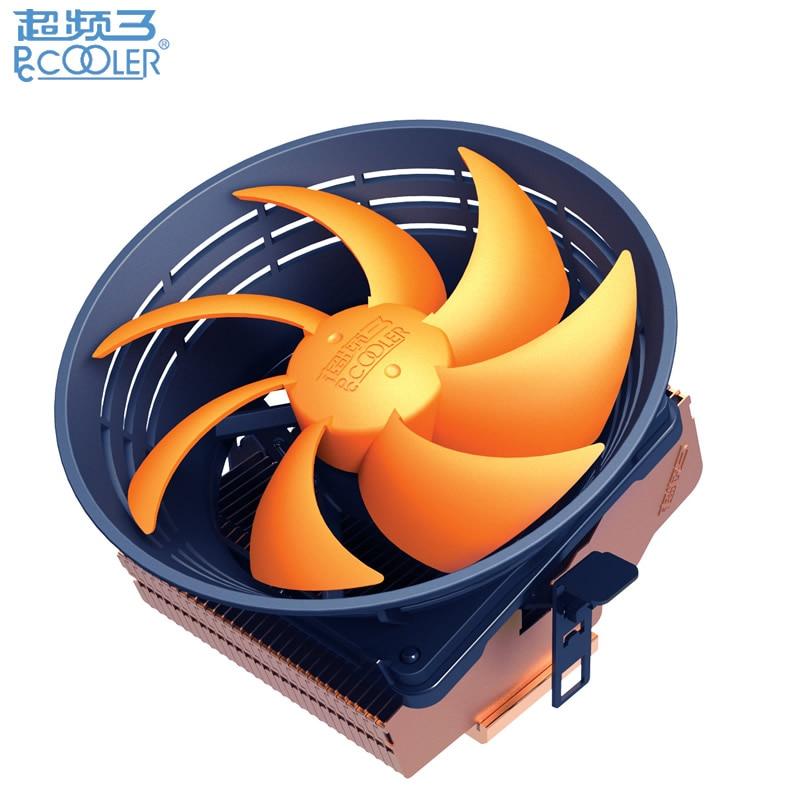 120mm fan, Oblique blow, cooling for Intel LGA775 115x, for AMD AMD all, cpu radiator fan, PcCooler Q121 pccooler e92f 90mm 4 pin cpu cooler cooling fan blue led computer case cpu cooling fans for intel lga775 115x for amd am2 am2