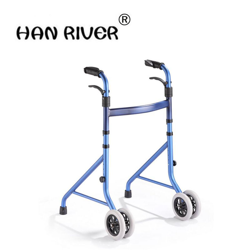 Steady step four feet in line device of portable folding help walking machine belt wheel chair on foot for the disabled the elderly to help line device handrail help frame the old man walking aid walking cane chair stool