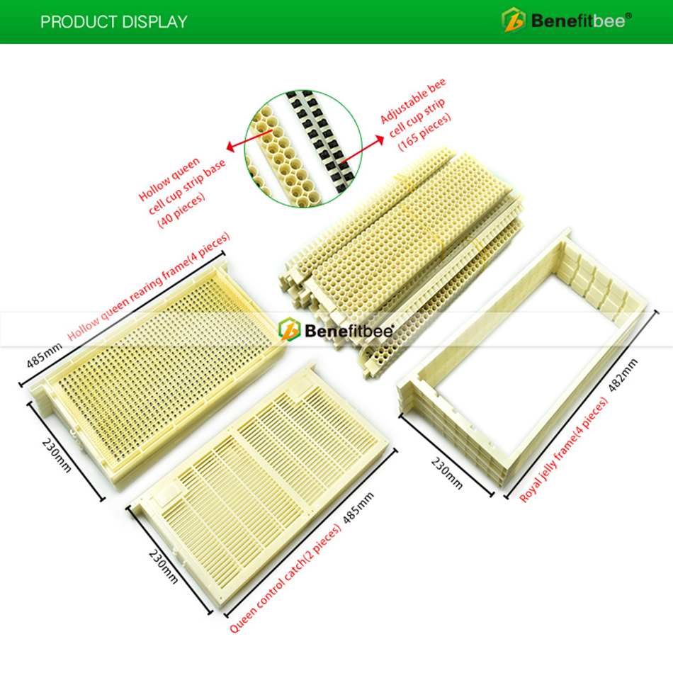Beekeeping Equipment 2 Row Frame for Royal Jelly Nest Frame