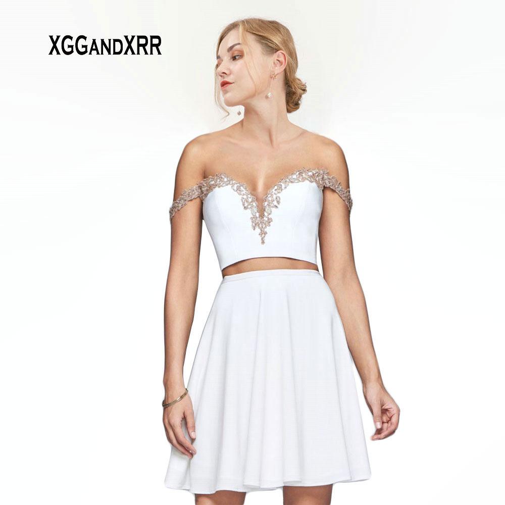 Сексуальные милые Короткие бальные платья 2019 Мини шифоновое платье для выпускного вечера с открытой спиной бальные платья для девочек Выпу