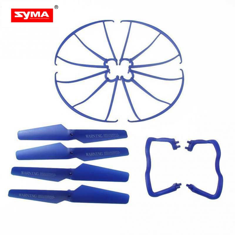 SYMA  X5 X5C 4-axis Accessory 4 pcs Blade/Tripod/Protection ring Main Propeller Replacement Spare Parts universal accessories skinbox флип кейс zte blade x5