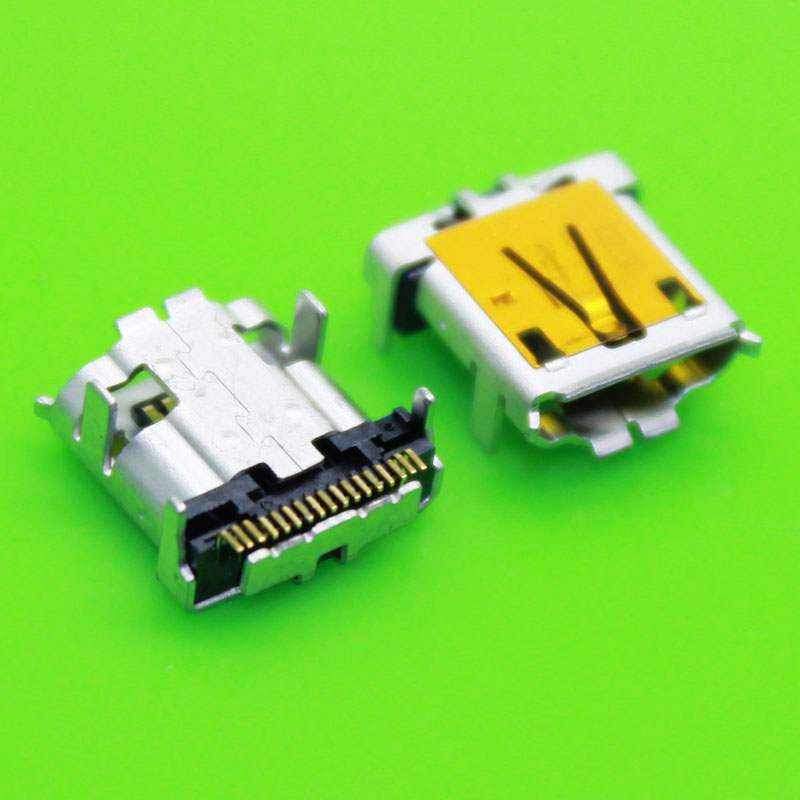 17-pin 17pin Mini Micro USB Jack Charging Socket Connector Power Plug Dock Port Female For Acer Iconia Tab A700 A701 A510 17P