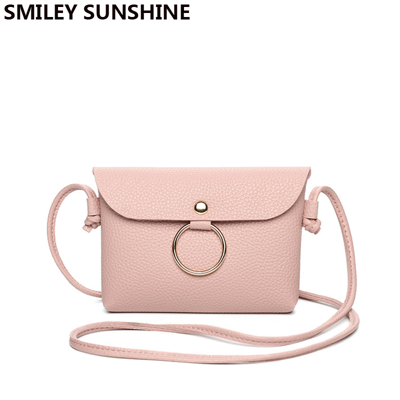 SMILEY SUNSHINE Mini Women Cute Handbags Crossbody Messenger Bag Female PU Leather Small Sling Shoulder Bags Purses Phone BagSMILEY SUNSHINE Mini Women Cute Handbags Crossbody Messenger Bag Female PU Leather Small Sling Shoulder Bags Purses Phone Bag