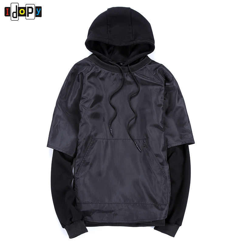 European and American Youth Style Street Wear Loose Hoodies Hip Hop Clothing Size Plus Hoodie For Men