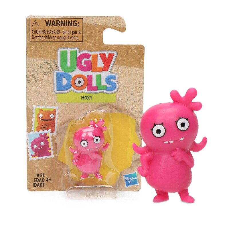 2019 3-5 cm moche poupées jouets film Moxy OX laid chien BABO PVC Action Figure Collection modèle poupées fête fournitures uglydoll