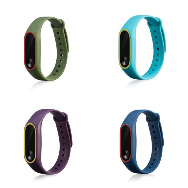Double Color Xiaomi Mi Band 2 Strap