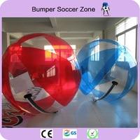 Free Shipping 100%TPU 2m Water Walking Ball Zorb Ball Inflatable Human Hamster Ball Walking Football
