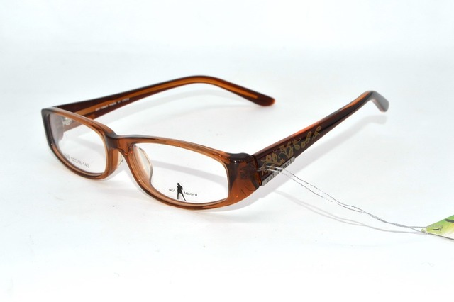 FULL Advanced Acetate Frame  talent eyewear Ultralight ladies brown custom made Prescription myopia glasses Photochrmic -1 to -6