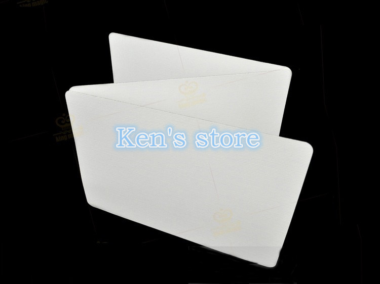 1 Deck Bicycle Double Blank Playing Cards Gaff Magic Cards Poker Special Props Close Up Stage Magic Trick For Magician Free Ship