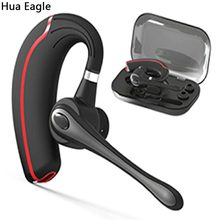 цены Hua Eagle business bluetooth earphones wireless earphone with microphone sports headset Unilateral in-ear mobile phone earphone