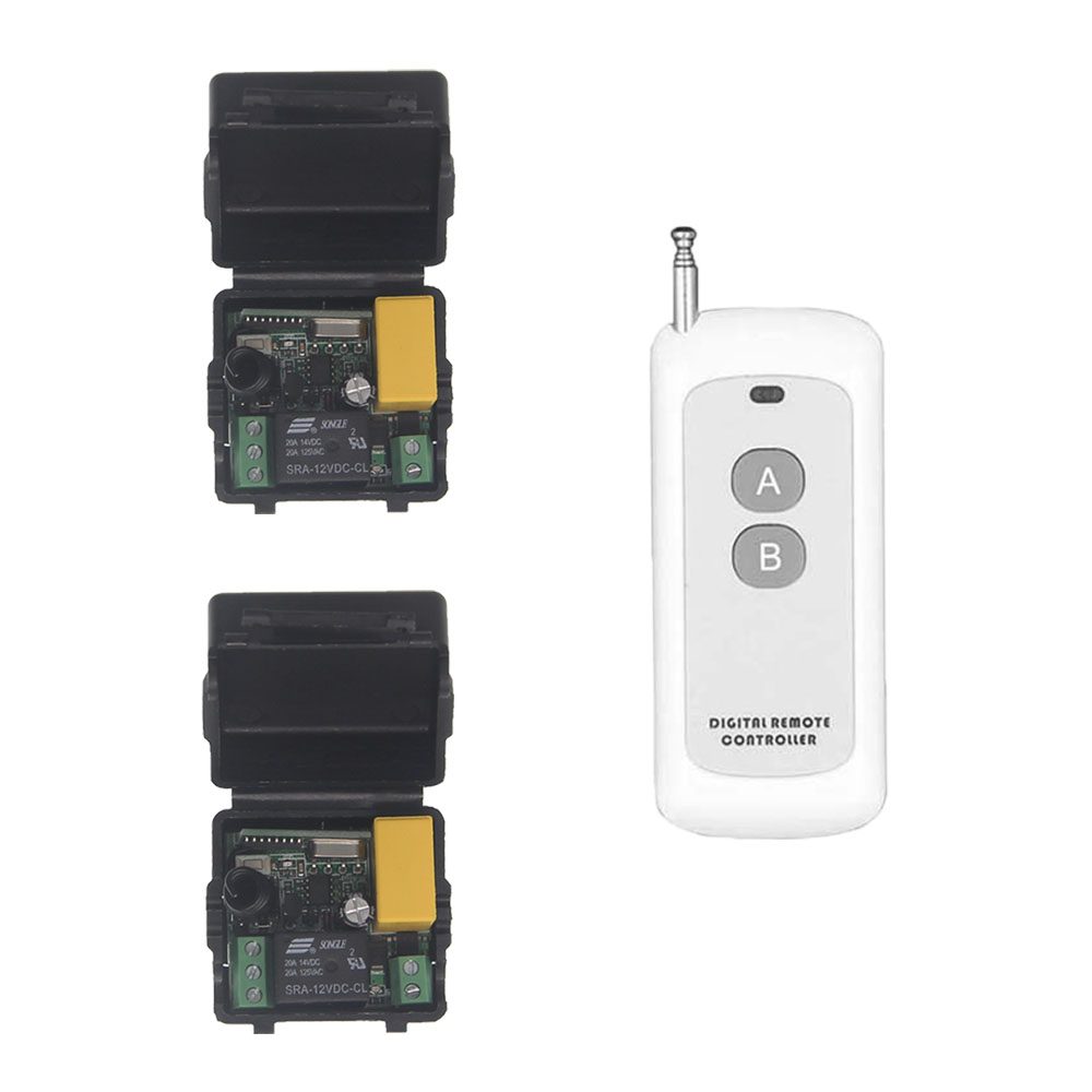 500m Mini AC 220V 1 CH 1CH 10A RF Wireless Remote Control Switch System Transmitter Receiver Console Acess Door Light Motor ac 220v 1ch rf wireless remote switch wireless light lamp led switch 1 mini receiver 4 transmitters on off 315mhz or 433mhz