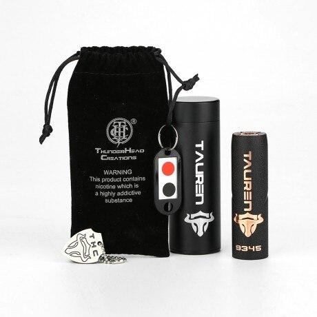 Kit de Mech Original THC Tauren avec THC Tauren Mech MOD & innovant 360 bouton de Contact complet No 18650 batterie e-cigarettes Vape - 6