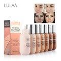 LULAA 35 мл Матовая жидкая основа для макияжа Макияж контроль жирности долговечный консилер полное покрытие водонепроницаемый контур макияж ...