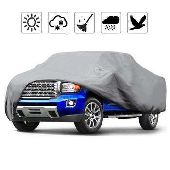 590cm 232inch 3 Layer Truck Pickup Cover Outdoor Waterproof Covers Coat Protector Rain UV Dust Proof For Ford Dodge GMC Toyota