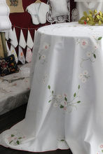 edf5325a11 Defective Old inventory Pastoral fresh handmade embroidered bedside Table    TV cover   tablecloth table cloth