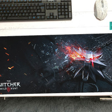 large witcher mouse pad 700x300x3mm pad to mouse notbook computer mousepad HD pr